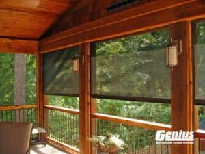 Deck Retractable Screens