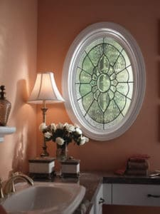 Hy-Lite B Decorative Glass Oval